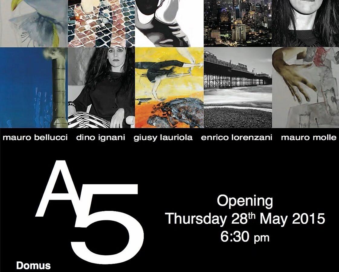 A5 collective exhibition domus art gallery athens