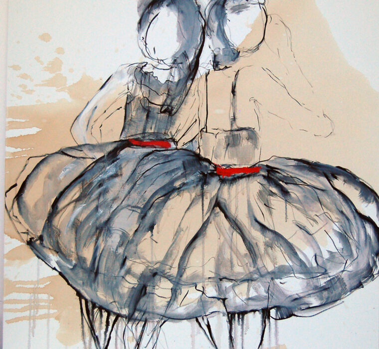 Giusy Lauriola - I LOVE DANCING 100x100x3,5 cm