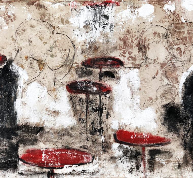 Giusy Lauriola-Perimetro-Infinito-N.-3-acrilico-bitume-su-tela-150x100-2020-