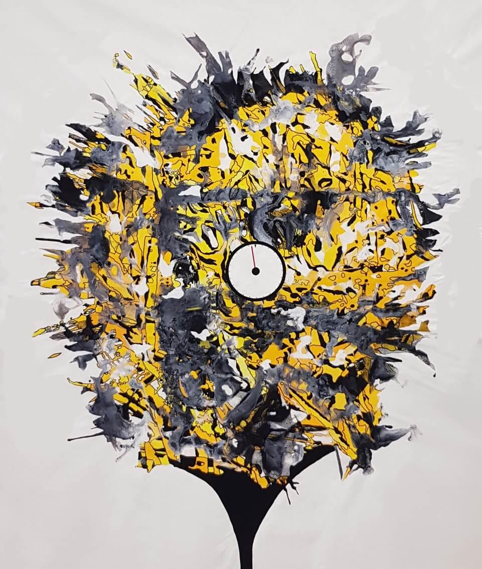 Petr Shevchenko - 'Critical Mass' 185x157, Acrylics on canvas