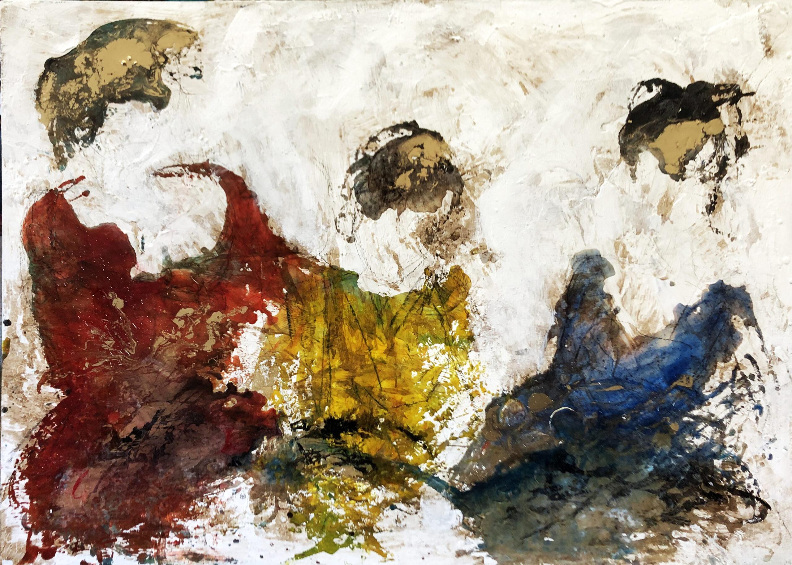 Giusy Lauriola- STAVAMO ANDANDO AD UN BALLO 140x100 cm