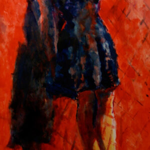 Chiara Abbaticchio Red Shoes 70x150 2017