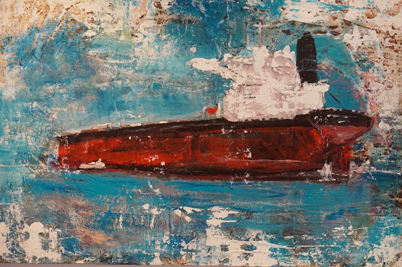 Giusy Lauriola - Red Passion 90x120x2 cm 2020